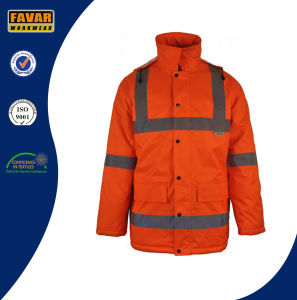 Breathable Waterproof High Visibility Winter Jacket