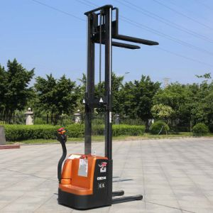 Counter Balance 1.4ton Full Electric Stacker Price (CDD14) pictures & photos