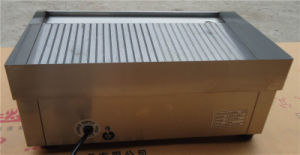 Electric Grill and Griddle for Gridding Food (GRT-E818-2) pictures & photos