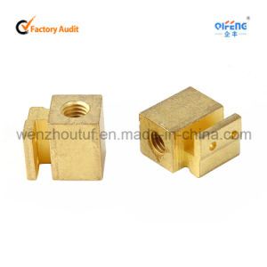 Tuofeng Hardware Precision Parts Brass Terminal Block pictures & photos
