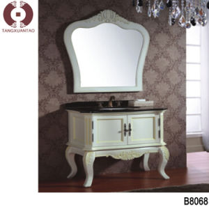 Bedroom Furniture Solid Wood Sanitary Ware Bathroom Cabinet (B8057) pictures & photos