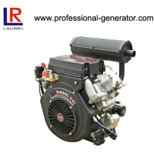 20HP Air Cooled Diesel Engine with V-Twin pictures & photos