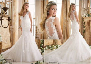 2016 New Hot-Selling Bride Mermaid Wedding Dress, Customized