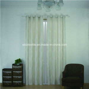 Ivroy Color Jacquard Design Window Curtain pictures & photos