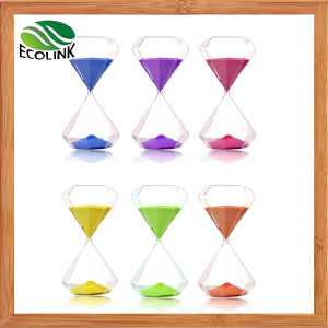 Diamond Shape Sand Timer Hourglass pictures & photos