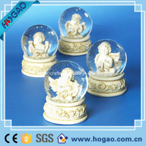 Resin Angel Water Snow Globe (HG165) pictures & photos