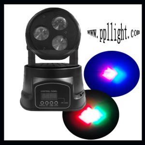 3PCS 10W 4in1 LED Mini Moving Head Beam Light pictures & photos