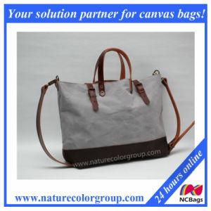 Waxed Canvas Handbag for Women pictures & photos