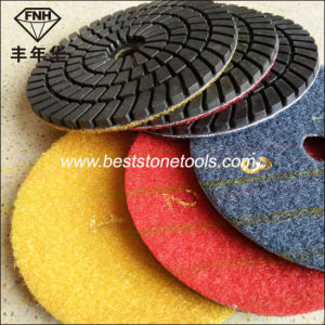 Wd-10 Diamond 3 Step Wet Polishing Pad (100X3.5mm) pictures & photos