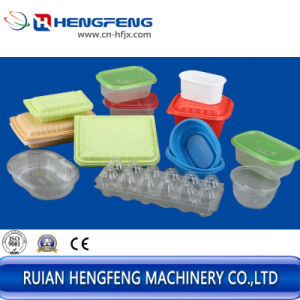 Container Tray Box Plastic Thermoforming Machine pictures & photos
