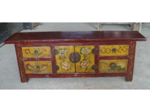 Chinese Painted TV Cabinet TV202 pictures & photos
