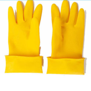 Chemical Rubber Industrial Household Safety Latex Gloves pictures & photos