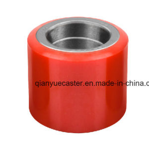 Hot Sale 100X80mm PU&Nylon Forklift Wheel for Industrial pictures & photos
