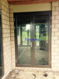 Aluminum French Door pictures & photos