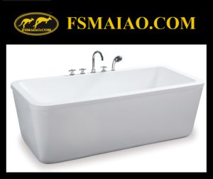 Beautiful-Design Modern Freestanding Acrylic Bathtub (BA-8515) pictures & photos