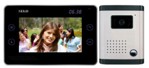 8 Inch Hands Free 4 Wires or 2 Wires Color Video Door Phone pictures & photos
