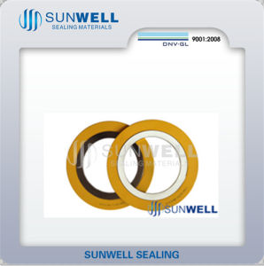 Nuclear Spiral Wound Gasket The Graphite Filler Is Nuclear Grade Flexible Style pictures & photos