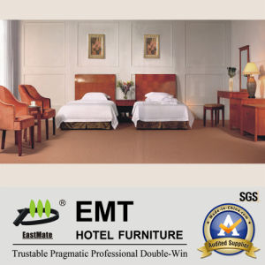 Nice & High Quality Wooden Hotel Bedroom Set (EMT-B0903) pictures & photos