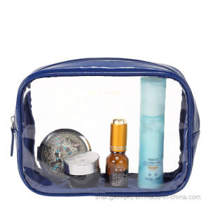 Transparent PVC Cosmetic Bag Make up Bag in Small Size pictures & photos