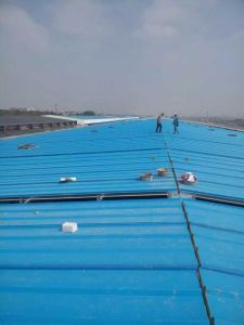 Best Price of Blue Color Coated Corrugated Aluminum Galvanized Metal Roof Sheet pictures & photos