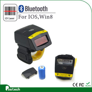 Handfree Laser Finger Barcode Reader Fs02 pictures & photos