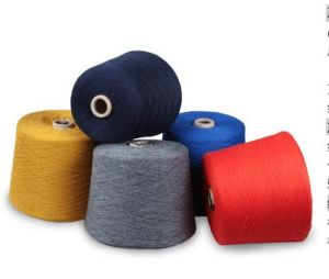 Hig Quality Polyester Spun Recycled Yarn