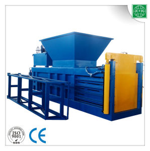 Waste Plastic Bottle Semi-Automatic Baling Machine pictures & photos