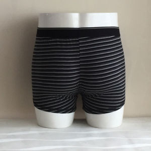 Customized Cheap Striped Mens Sexy Best Boxers pictures & photos