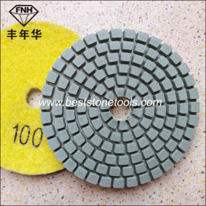 Wd-1-80 Held Stone Polishing Pad Aggressive Shine Gloss (3 inch)