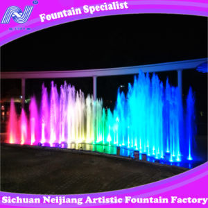 Outdoor Music Dancing Jet Fountain, Restraurant Fountain