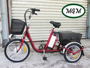 20′ Three Wheels Electric Bike with En15194 pictures & photos