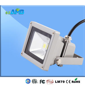 Top Quality 10W LED Flood Light with Bridgelux LED, 130-140lm/W