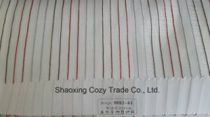 New Popular Project Stripe Organza Voile Sheer Curtain Fabric 008261 pictures & photos
