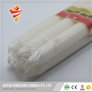 400g White Fluted Candles to Mozambique/Johanesburg pictures & photos