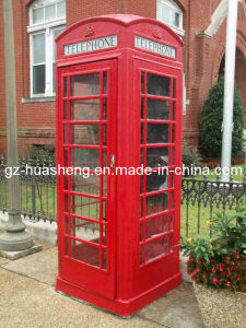 Telephone Booth for Outdoor with Metal (HS-030) pictures & photos