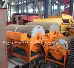 2xctn Permanent Magnetic Drum Type Magnetic Separator Full Countercurrent Flow Type Magnetic Separator pictures & photos