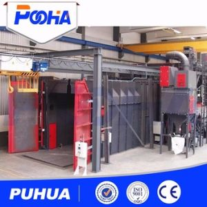 Automatic Recycling Sand Blasting Room Manual Air Sand Blasting Cabinet (Q26) pictures & photos