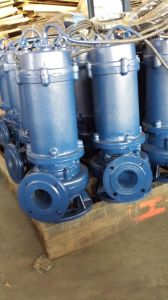 Electrical Horizontal Submersible Sewage Centrifugal Pump pictures & photos