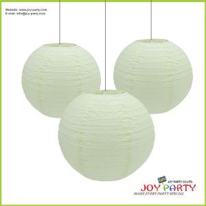Ivory Beige Round Paper Lanterns pictures & photos