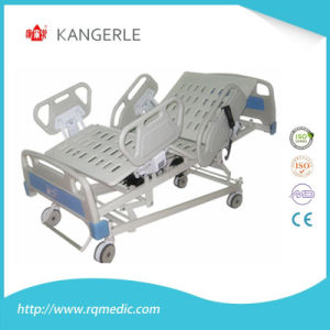 China Suppliers 5 Functions Electric Hospital Bed ICU Bed pictures & photos