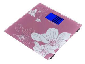 Backlight Display Weighing Bathroom Scale (dB719R) pictures & photos