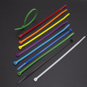 Cable Tie, Black, White, Colour, Self-Locking, Releasable pictures & photos