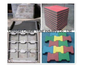Rubber Tile Mould Ing Machine/Rubber Tile Press pictures & photos