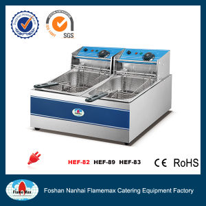 1-Tank 2-Basket Electric Fryer (HEF-83) pictures & photos
