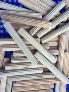 Factory-Grooved Wooden Dowel Pin Size 13.5X50mm 7X45mm Sales in Peru pictures & photos