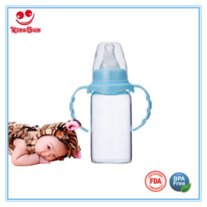 BPA Free Nature Borosilicate Glass Baby Bottles 4ounce/5ounce pictures & photos
