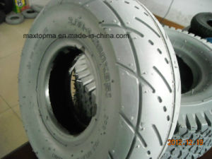 Maxtop Color Green Wheelbarrow Tyre pictures & photos