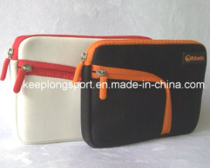 Fashionable Neoprene Laptop Bag with Zipper Closed with Front Pocket