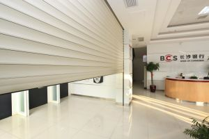 Aluminum Security Bank Roller Door System pictures & photos