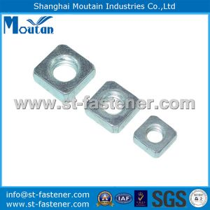 Zp Square Thin Nuts with DIN562 Carbon Steel